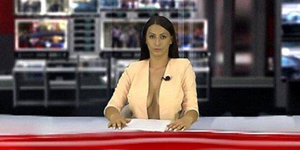 Sexy Reporterin