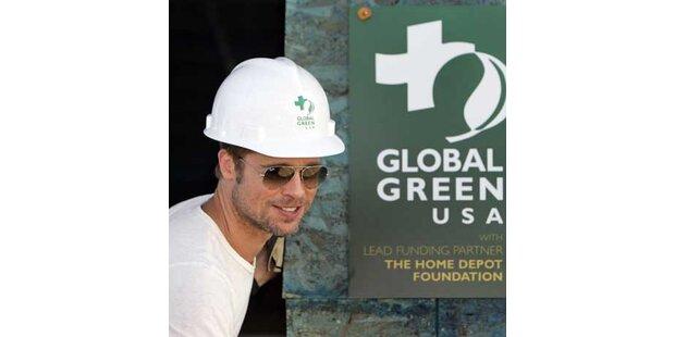 Brad Pitt baut Öko-Häuser