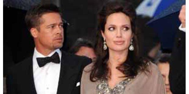 Angelina Jolie warf Brad Pitt raus!