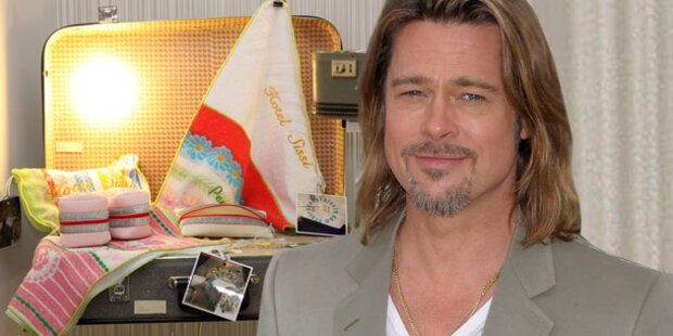 Brad Pitt lebt gern aus dem Koffer
