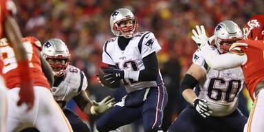 Patriots und Rams stehen im Super Bowl