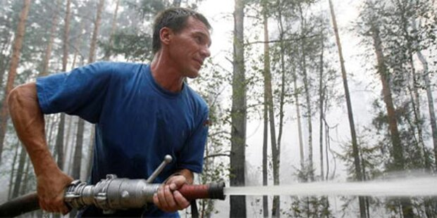 Brandhölle Russland: Keine Entwarnung