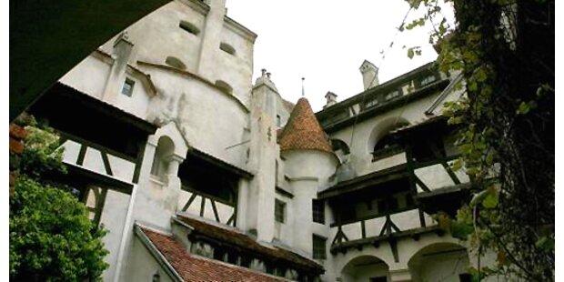 Dracula-Schloss vor Verkauf