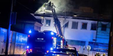 Feuer-Alarm in Radatz-Fleischerei