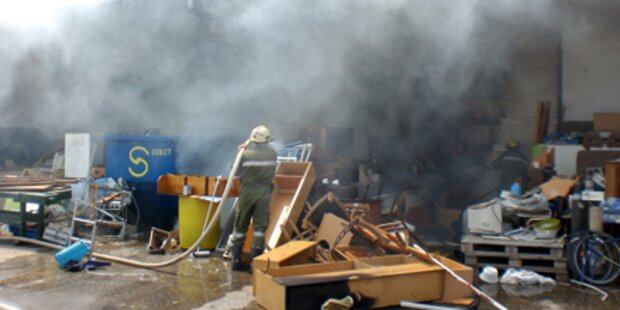Antiquitäten vor Feuersturm gerettet