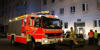 Dramatische Szenen bei Brand in Linz