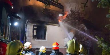 34-Jähriger stirbt bei Brand in Einfamilienhaus