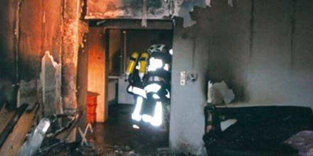 Hausbesitzer legte selbst das Feuer