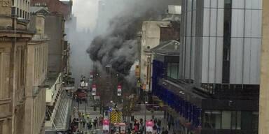 Feuer-Hölle mitten in Glasgow