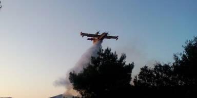 Hitze und Waldbrände in Bulgarien