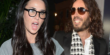 Russell Brand, Demi Moore
