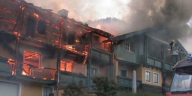 Hotelbrand: Technik-Defekt war Ursache