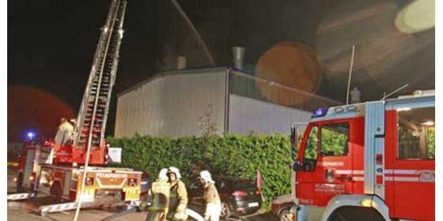 Großbrand wütete in Klagenfurt