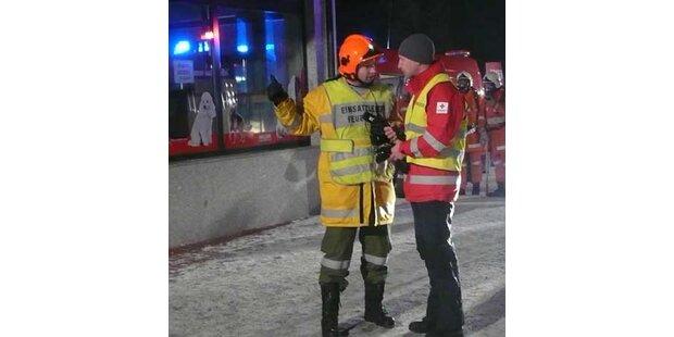 22 Menschen in letzter Sekunde gerettet
