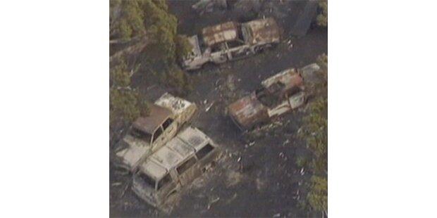 Buschbrände zerstören 40 Häuser