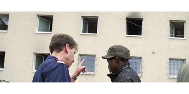 Brand in Asylwerberheim durch Zigarette ausgelöst