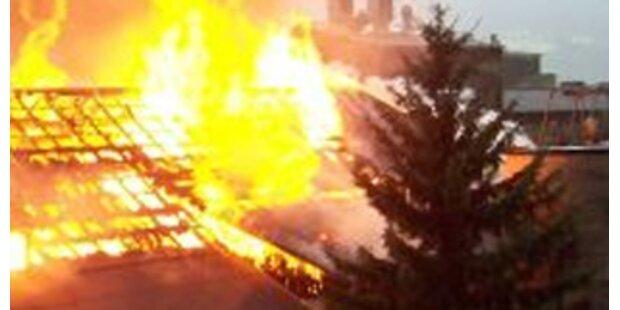 Urlauber flüchteten vor Brand in Alpenvereinshaus