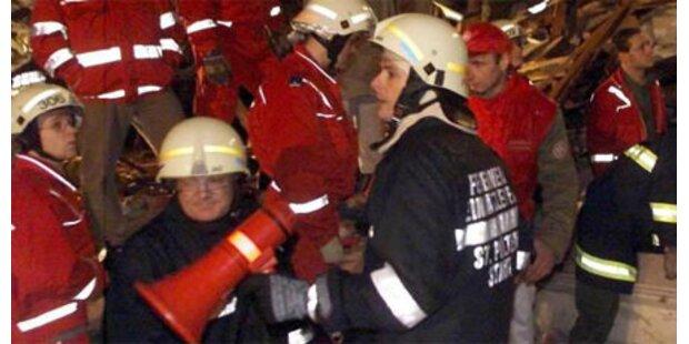 Gäste aus brennendem Wirtshaus gerettet