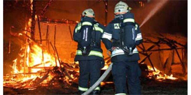 Großbrand in Möbelhaus Rutar in Kärnten