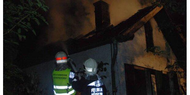 Feuerteufel zündelte in Vösendorf