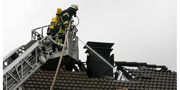 Fünf Tote bei Hausbrand in Deutschland