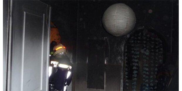 Großbrand zerstört Studentenwohnung