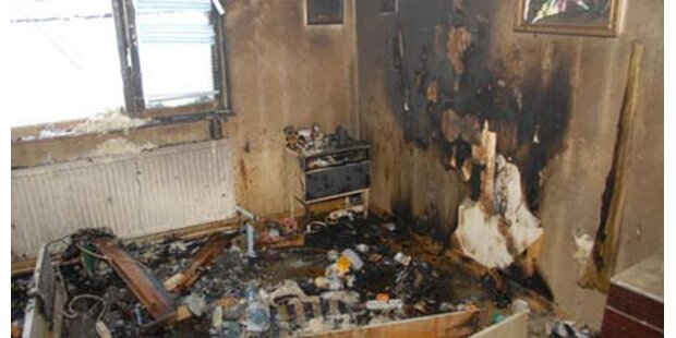 Brand in Einfamilienhaus bei Mödling