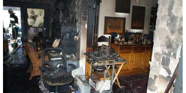 Ein Toter bei Wohnhausbrand in NÖ