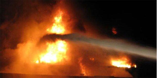 Großbrand in Mühle in Herzogenburg