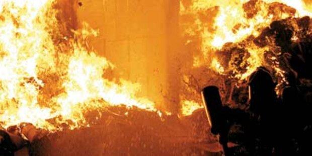 Burgenländer nach Brandserie geschnappt