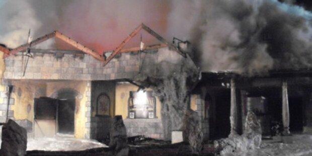 Großbrand zerstört Diskothek