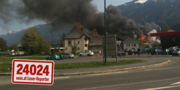 Kärntner Fensterfirma niedergebrannt