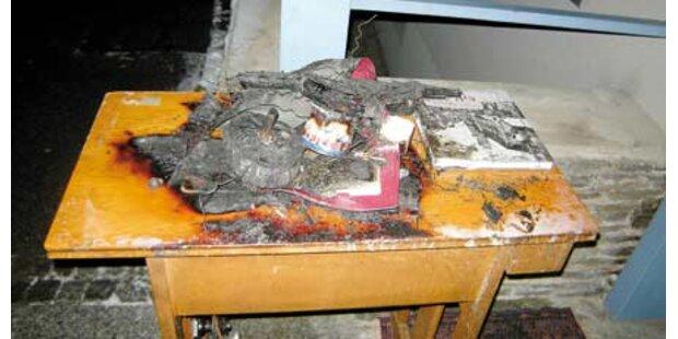 Christbaum setzt Altersheim in Brand