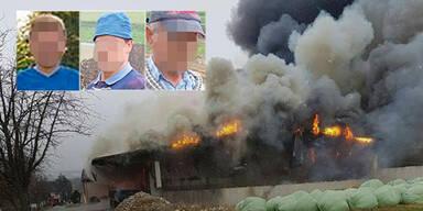 Brand mit drei Toten: Obduktion