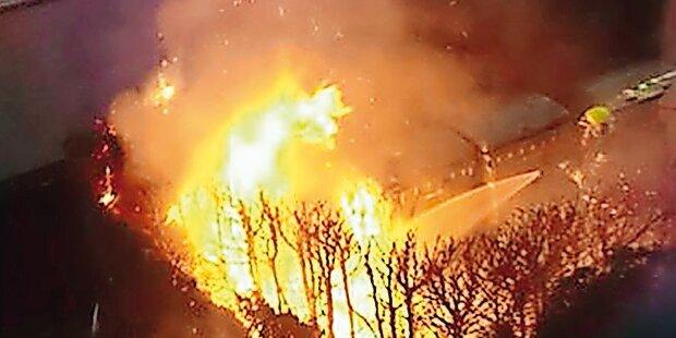 Feuerteufel zündelte 5 Mal im selben Haus