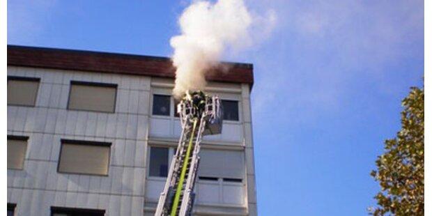 Baby aus Flammenhölle gerettet