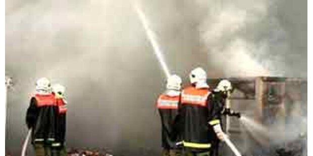 300 Jahre altes Bauernhaus in Hohenems abgebrannt