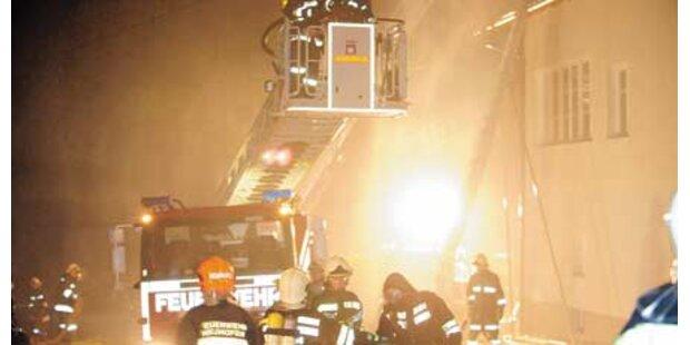 Familie nach Brand jetzt obdachlos