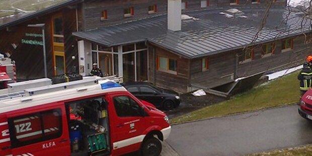 Kindergarten wegen Brand evakuiert