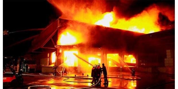 Schon wieder Brand bei Linz Textil