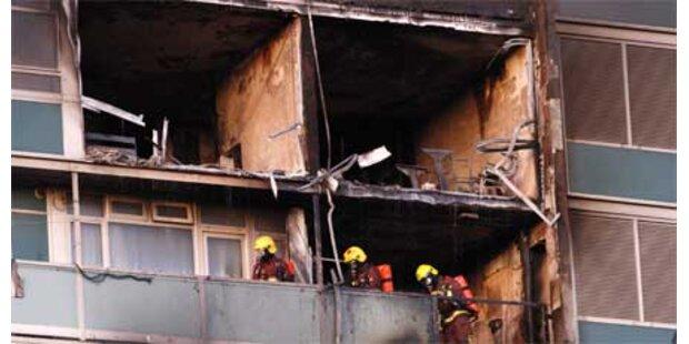 6 Tote bei Brand in Londoner Hochhaus