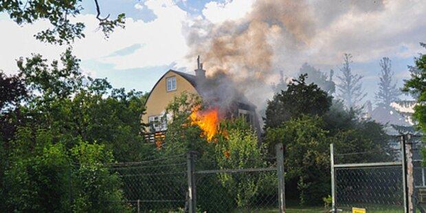 Wohnhaus in Mödling ging in Flammen auf