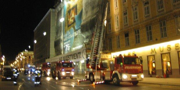 Brand im neuen Opern-Hotel