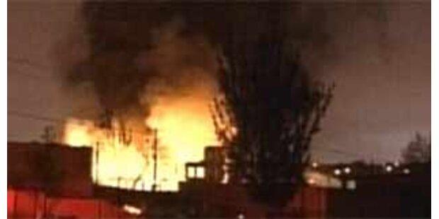 Großbrand in Philadelphia