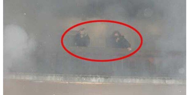 Zwei Frauen aus brennendem Haus gerettet