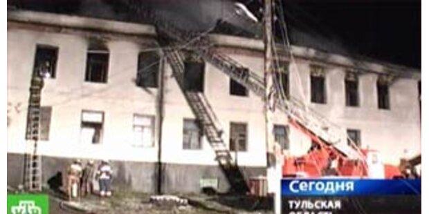 Inzwischen 31 Tote nach Brand in Behindertenheim
