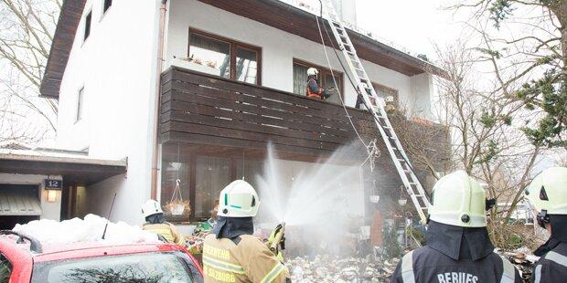 97-Jähriger stirbt bei Brand in Salzburg