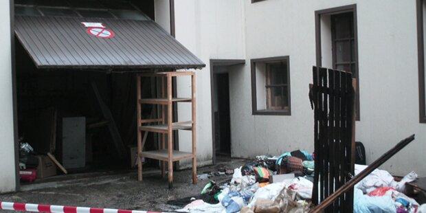 Acht Verletzte bei Brand in Wels
