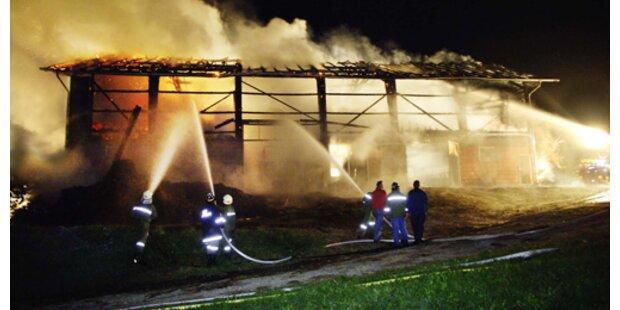 Acht Brände gelegt: Feuerteufel geständig