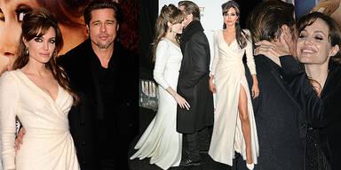 Angelina Jolie Brad Pitt Brangelina Yoga